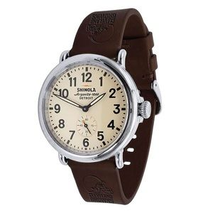Cleveland Browns Quick Change Leather Watch Band